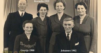 Oude foto van de familie Lanting
