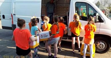 CBS de Borgstee doneert Koningsspelenontbijt