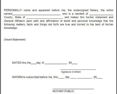 Affidavit meaning - Spinfold - affidavit statement of facts