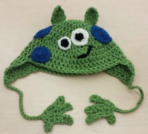 little green monster hat 2