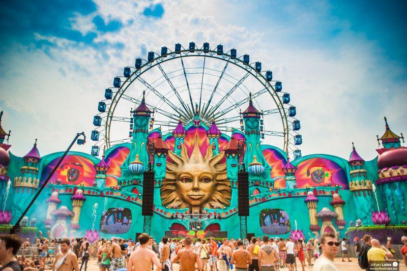 Tomorrowland 2012 Day 1