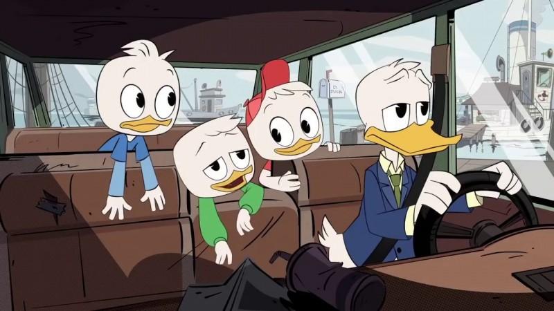 Wallpaper Pato Gravity Falls Ducktales Comic Con 2017 Clip Teaser Disney Spinoff