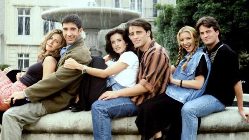 FRIENDS, Jennifer Aniston, David Schwimmer, Courteney Cox Arquette, Matt LeBlanc, Lisa Kudrow, Matth