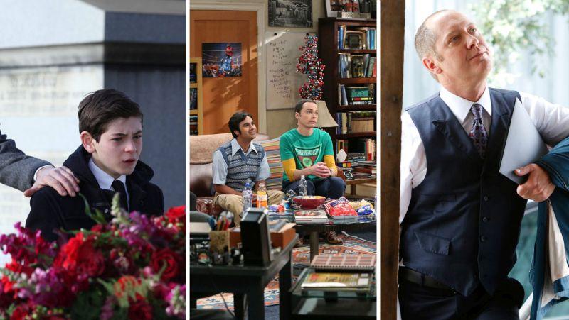gotham big bang blacklist split Audiência nos EUA | 22 09 2014 | Gotham, Scorpion, Big Bang, Blacklist e The Voice