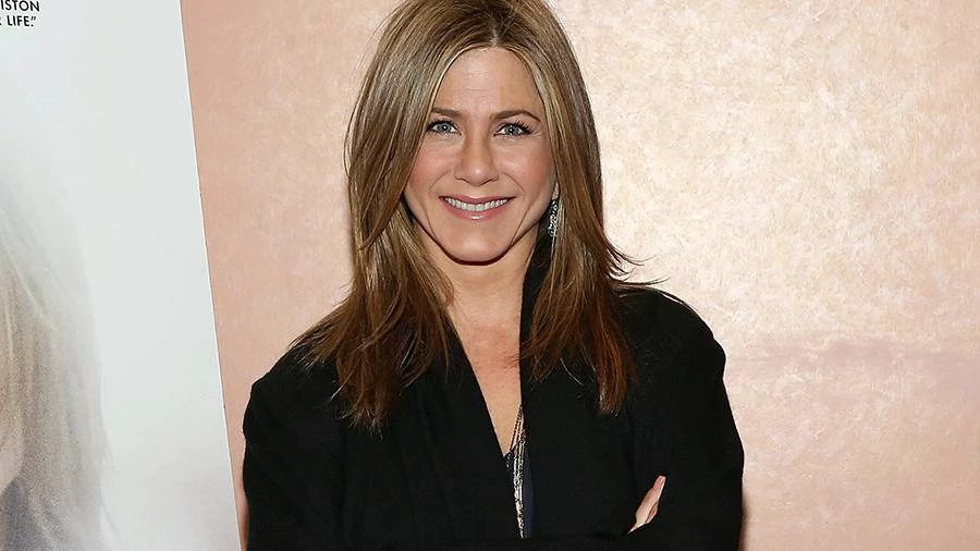 """NEW YORK, NY - DECEMBER 15:  Actress Jennifer Aniston attends the 2014 Variety Screening Series - """"Cake"""" at AMC Loews 34th Street 14 theater on December 15, 2014 in New York City.  (Photo by Monica Schipper/Getty Images for Variety)"""