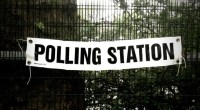 Polling station, photo by STML