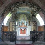 View to the sanctuary