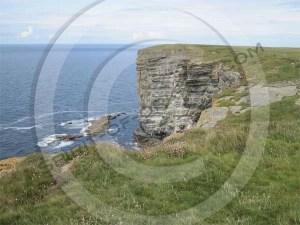 Cliffs at Marwick Head