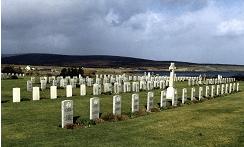 Lyness Cemetery, Hoy, Orkney