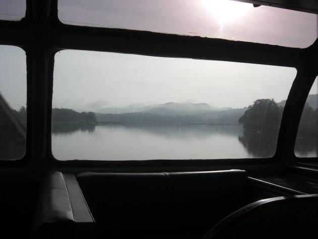 3-train picture postcard