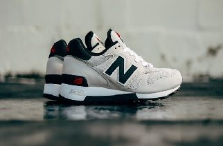 NEW BALANCE 1300 MADE IN USA IMPRESSES WITH BEIGE AND PATRIOTIC TONES