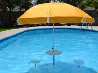 Aqua-Party-Bar-with-Yellow-Umbrella