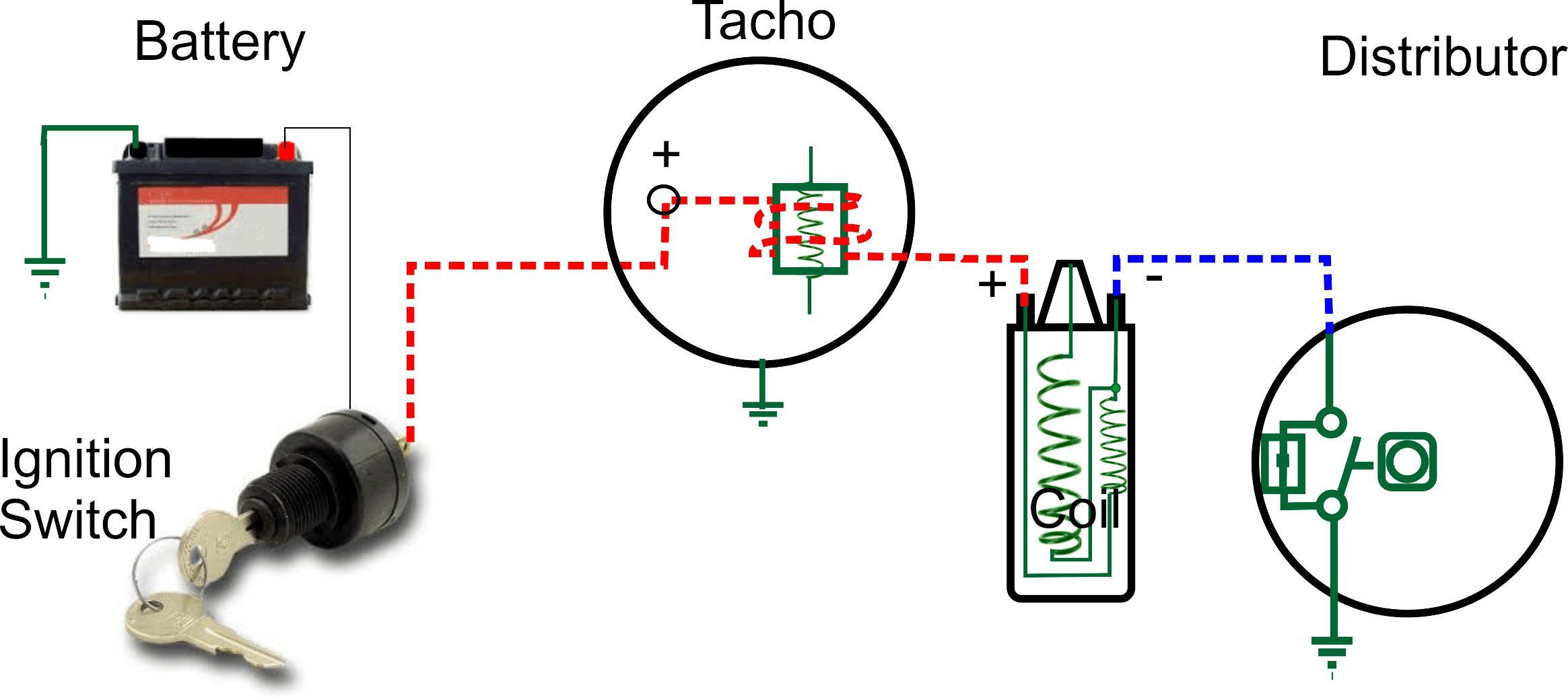 mopar tachometer wiring diagram