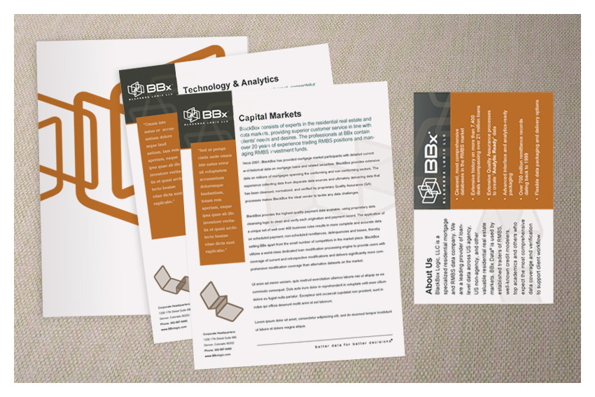 Denver print design - brochures, folders, business cards - SPK Media