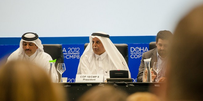 Fahad Bin Mohammed Al-Attiya, the Chairman of the COP18/CMP8 Organising Sub-Committee