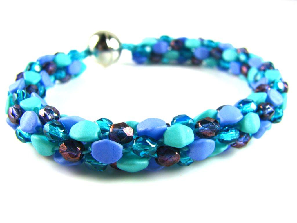 Kumihimo Beaded Bracelets Spoilt Rotten Beads