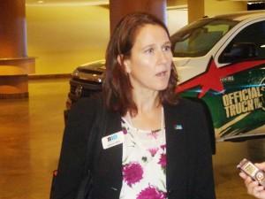 Big Ten Associate Commissioner Jennifer Heppel Photos by Charles Hallman