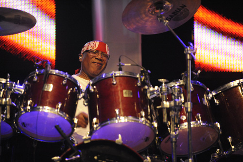 Billy Cobham Photo courtesy of publicist Nancy Balik