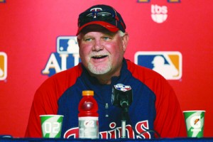 Ron Gardenhire's contract as Twins manager has been extended through 2015. Photo courtesy of the Twins