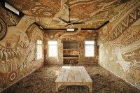 Intricate Mud Paintings on School Walls in India by Yusuke ...