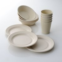 Reusable Bamboo Tableware That Looks Like Disposable Paper ...