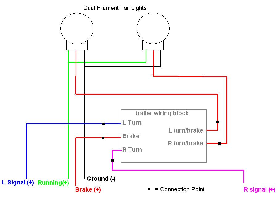 toyota trailer light converter wiring