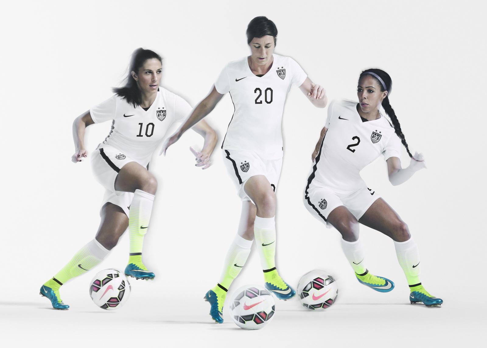 Le Nouveau Maillot Nike Des Usa Pour La Coupe Du Monde