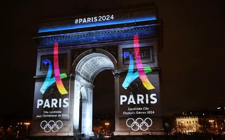 Il nuovo logo di Parigi 2024 - foto tratta dal web