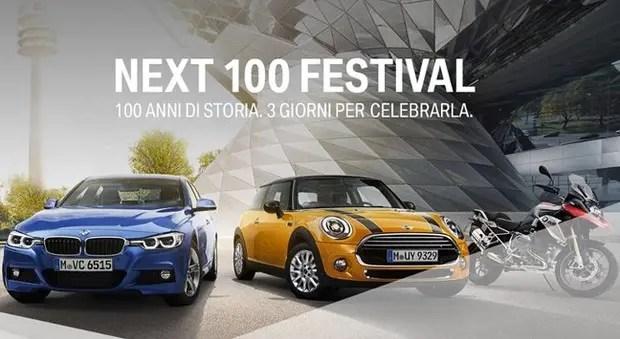 Next 100 Festival: 100 anni di storia BMW, 3 giorni per celebrarla
