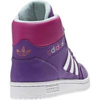 Sneakers alte Pro Play K colore Viola Bianco - Adidas ...