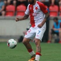 16.7.2017/Praha/ sport/ fotbal/ SK Slavia Praha/ OGC Nice / fotbalova priprava FOTO CPA