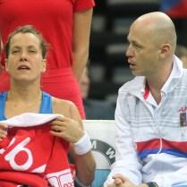10.2.2018 / Praha / CR / Sport / Tenis / FED CUP / CESKO / SVYCARSKO/ Foto CPA