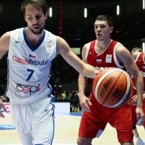 Česká republika Rusko kvalifikace na MS v Čině basketbal Vojtech Hruban foto CPA