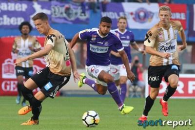 Die Bilder vom Spiel in der Tipico Bundesliga FK Austria Wien gegen LASK