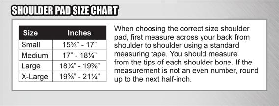 Xenith XFLEXION Shoulder Pad Sports Advantage