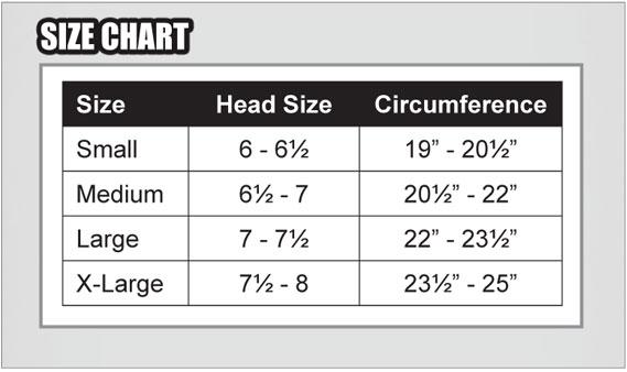 youth football helmet sizing chart - Antaexpocoaching