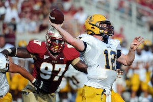 Murray State Racers quarterback Casey Brockman has signed with football agent Ryan Earls.