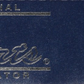 Old Foil Label