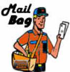 Sports Card Radio Mail Bag Logo