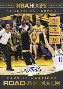 2016-17 NBA Hoops Road to the Finals Kyrie Irving Insert