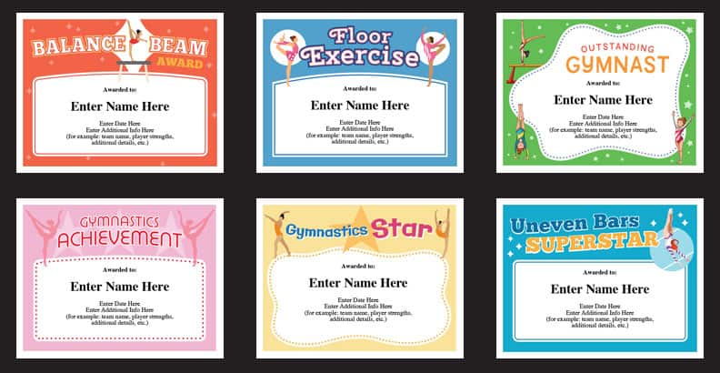 Gymnastics Slogans, Sayings and Phrases Gymnast - certificate sayings