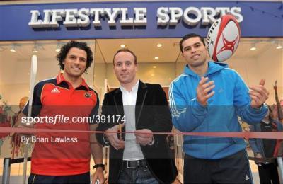 Sportsfile - Sean Og O hAilpin and Doug Howlett Line Out ...