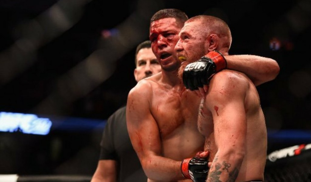 Nate Diaz v Conor McGregor
