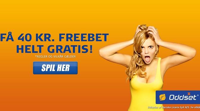 Danske Spil freebet gratis