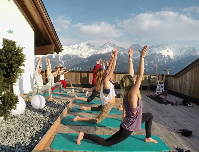Yoga at Alphotel