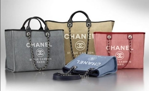 Chanel Deauville Canvas Tote Bag Reference Guide Spotted Fashion