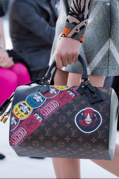 what is louis vuitton monogram canvas made of