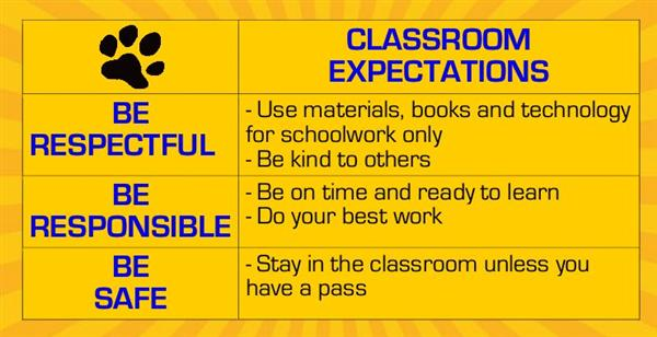 Policies / Classroom Expectations