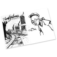 Graffiti Coloring Book #2, Characters | Spraydaily.com