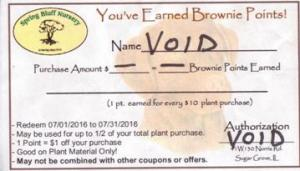 Brownie Point Coupons